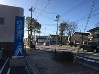 「丸河内交差点」から3つ目の「公園通り交差点」を右折。※交差点手前に西京銀行小野田支店があります。