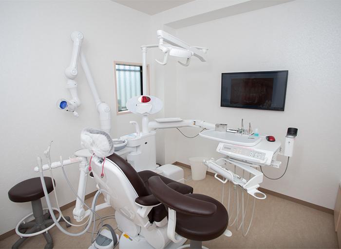 すべての診療を個室で行います